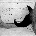 Pablo Picasso (1881-1973) Period of creation: 1931-1942 - 1937 Dormeuse