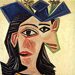 1939 Buste de femme au chapeau , Pablo Picasso (1881-1973) Period of creation: 1931-1942