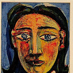 1939 TИte de femme I , Pablo Picasso (1881-1973) Period of creation: 1931-1942