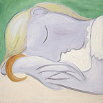 1932 Femme endormie, Pablo Picasso (1881-1973) Period of creation: 1931-1942