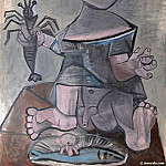 1941 Jeune garЗon Е la langouste. JPG, Pablo Picasso (1881-1973) Period of creation: 1931-1942