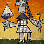 1939 Fillette couronnВe au bateau, Pablo Picasso (1881-1973) Period of creation: 1931-1942