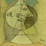1937 TИte de femme , Pablo Picasso (1881-1973) Period of creation: 1931-1942