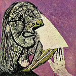 1937 La femme qui pleure 9, Pablo Picasso (1881-1973) Period of creation: 1931-1942