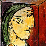 1938 Portrait de Marie-ThВrКse, Pablo Picasso (1881-1973) Period of creation: 1931-1942