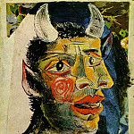 1937 TИte, Pablo Picasso (1881-1973) Period of creation: 1931-1942