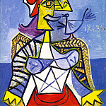 Pablo Picasso (1881-1973) Period of creation: 1931-1942 - 1939 Femme assise