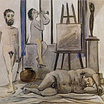 1942 Nus masculins, Pablo Picasso (1881-1973) Period of creation: 1931-1942