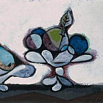 Pablo Picasso (1881-1973) Period of creation: 1931-1942 - 1936 Compotier de poires