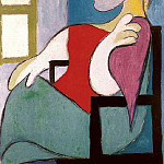 1932 Femme assise prКs dune fenИtre , Pablo Picasso (1881-1973) Period of creation: 1931-1942
