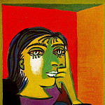 Pablo Picasso (1881-1973) Period of creation: 1931-1942 - 1937 Portrait de Dora Maar 7