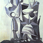 1939 Nu debout et femme assise 2, Pablo Picasso (1881-1973) Period of creation: 1931-1942
