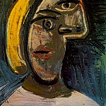 1939 TИte de femme aux cheveux blonds , Pablo Picasso (1881-1973) Period of creation: 1931-1942