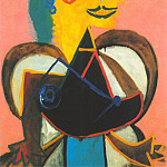 Pablo Picasso (1881-1973) Period of creation: 1931-1942 - 1937 Portrait de Lee Miller