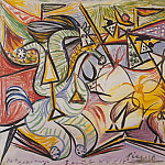 1934 Courses de taureaux 3, Pablo Picasso (1881-1973) Period of creation: 1931-1942