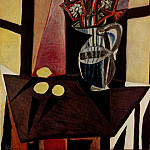 1941 Nature morte 2, Pablo Picasso (1881-1973) Period of creation: 1931-1942