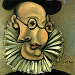 Pablo Picasso (1881-1973) Period of creation: 1931-1942 - 1939 Portrait de Jaime Sabartes en Grand dEspagne