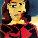 Pablo Picasso (1881-1973) Period of creation: 1931-1942 - 1939 Portrait de Dora Maar 6