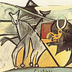 1934 Courses de taureaux 1, Pablo Picasso (1881-1973) Period of creation: 1931-1942