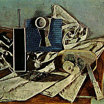 1937 Nature morte1, Pablo Picasso (1881-1973) Period of creation: 1931-1942