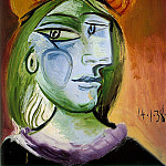 1938 Portrait de femme, Pablo Picasso (1881-1973) Period of creation: 1931-1942