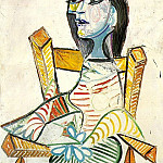 1938 Portrait de femme 2, Pablo Picasso (1881-1973) Period of creation: 1931-1942