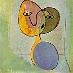 1936 Portrait de femme, Pablo Picasso (1881-1973) Period of creation: 1931-1942