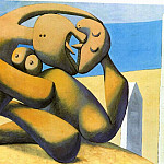 1931 Figures au bord de mer2. JPG, Pablo Picasso (1881-1973) Period of creation: 1931-1942