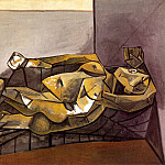 1942 Nu couchВ, Pablo Picasso (1881-1973) Period of creation: 1931-1942