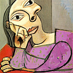 Pablo Picasso (1881-1973) Period of creation: 1931-1942 - 1939 Femme accoudВe 1