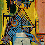 1937 Portrait de femme3, Pablo Picasso (1881-1973) Period of creation: 1931-1942