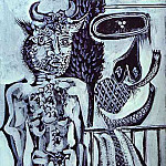 1937 Minotaure, Pablo Picasso (1881-1973) Period of creation: 1931-1942