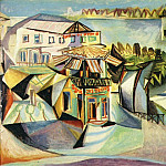 1940 CafВ Е Royan [Le cafВ], Pablo Picasso (1881-1973) Period of creation: 1931-1942