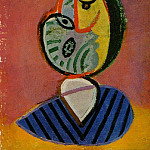 1936 TИte de femme 1, Pablo Picasso (1881-1973) Period of creation: 1931-1942