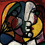 1932 TИte de Marie-ThВrКse, Pablo Picasso (1881-1973) Period of creation: 1931-1942