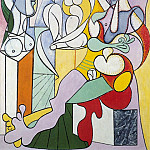 Pablo Picasso (1881-1973) Period of creation: 1931-1942 - 1931 Le sculpteur2