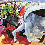 1933 Corrida- la mort du torero, Pablo Picasso (1881-1973) Period of creation: 1931-1942