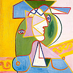 Pablo Picasso (1881-1973) Period of creation: 1931-1942 - 1934 Buste de femme