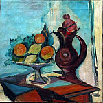 1937 Nature morte au pichet, Pablo Picasso (1881-1973) Period of creation: 1931-1942