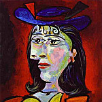 1938 Buste de femme 4, Pablo Picasso (1881-1973) Period of creation: 1931-1942