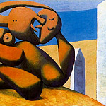 Pablo Picasso (1881-1973) Period of creation: 1931-1942 - 1931 Figures au bord de la mer
