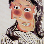 1939 Portrait de Dora Maar 5, Pablo Picasso (1881-1973) Period of creation: 1931-1942