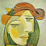 1938 Portrait de femme au chapeau, Pablo Picasso (1881-1973) Period of creation: 1931-1942