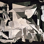 Guernica, Pablo Picasso (1881-1973) Period of creation: 1931-1942