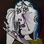 1937 La femme qui pleure 4, Pablo Picasso (1881-1973) Period of creation: 1931-1942