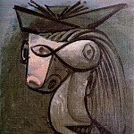 1939 TИte de femme au chapeau, Pablo Picasso (1881-1973) Period of creation: 1931-1942