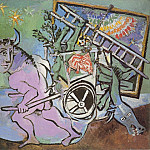1936 Minotaure tirant une charette, Pablo Picasso (1881-1973) Period of creation: 1931-1942