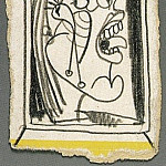 Pablo Picasso (1881-1973) Period of creation: 1931-1942 - 1937 TИte de femme