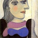 Pablo Picasso (1881-1973) Period of creation: 1931-1942 - 1937 Portrait de Dora Maar 9