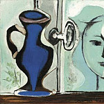 Pablo Picasso (1881-1973) Period of creation: 1931-1942 - 1937 TИte devant la fenИtre